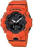 [カシオ] 腕時計 ジーショック 歩数計測 Bluetooth 搭載 GBA-800-4AJF メンズ オレンジ