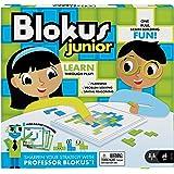 Blokus Junior (D): Planung / Problemlösung / räumliches Vorstellungsvermögen / 1 Spielbrett / 42 Steine in 2 Farben / 4 doppe