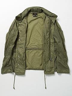 Garment Dyed Nylon M65 Jacket 11-18-2615-139: Olive