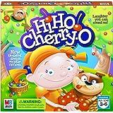 "Hasbro Gaming 44703 Hi Ho Cherry-O Game (Amazon Exclusive) Green, Yellow, Blue 10.75"" x 3"""