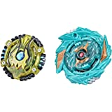 Beyblade Burst Surge Speedstorm Demise Satomb S6 and Anubion A6 Spinning Top Dual Pack -- 2 Battling Game Top Toy for Kids Ag