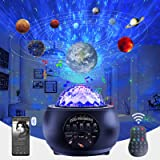 Lullabala Star Projector for Celling for Adults, Galaxy Night Light Projector with Led Nebula Cloud/Moving Ocean Wave for Bed