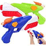 PhyPa 2 Pack Water Guns for Kids Water Soaker Blaster Toys for Girls and Boys Children Summer Swimming Pool Beach Sand Outdoo