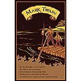 Mark Twain: Five Novels (Leather-bound Classics)