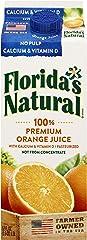 Florida's Natural NFC Premium Orange Juice with Calcium & Vitamin D (No Pulp), 1.5L - Chilled