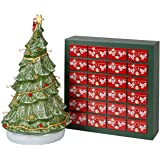 Villeroy & Boch Christmas Toy's Memory Set, 26 Pieces, Advent Calendar with 24 Figurines Maoffrom Hard-Paste Porcelain, with