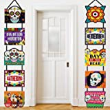 Day of the Dead Decoration Dia de los Muertos Banner Laminated Day of the Dead Signs Indoor Outdoor Mexican Decoration Party