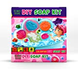 DIY Soap Making Kit - Kids, Make Your Own Soap with Silicon Molds, Ingredients, Tools, & Gift Boxes by Ultimate Science