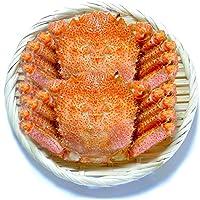 黒帯 毛ガニ 北海道 特大 毛がに 濃厚 カニ味噌 良品選別済 550gx2尾 1.1kg入