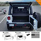 GPCA Cargo Cover LITE for Jeep Wrangler JL 4DR Sports/Sahara/Freedom/Rubicon Unlimited 2018-2019 Model (Under Hardtop) (Under