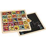 B. Magnetic Alphabetic Puzzle Plank
