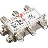 マスプロ電工 新4K8K衛星放送(3224MHz)対応 5分配器 全端子電流通過型 5SPFDW