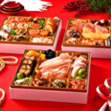 島の人 北海道 高級海鮮 おせち 蟹入り あつもり [4人前 特大8寸 42品 盛り付け済] 【12月30~31日お届け】