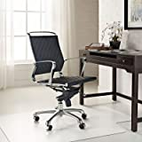 """Azadx Transparent Chair Mat, Computer Chair Hardwood Floor Protector for Office and Home, 36"""" x 48"""" with Lip for Hard Floor"""
