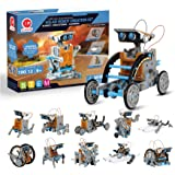 CIRO STEM Projects | 12-in-1 Solar Robot Toys, Education Science Experiment Kits for Kids Ages 8-12, 190 Pieces Building Set