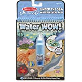 "Melissa & Doug 9445 On The Go Water Wow! Water-Reveal Activity Pad - Under The Sea,6"" x 10"""