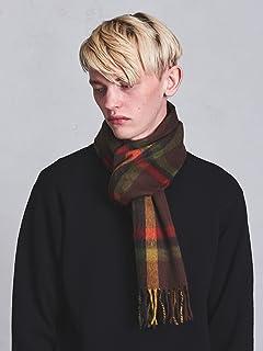 Wool Angora Scarf Camden 1336-499-3406: Dark Brown