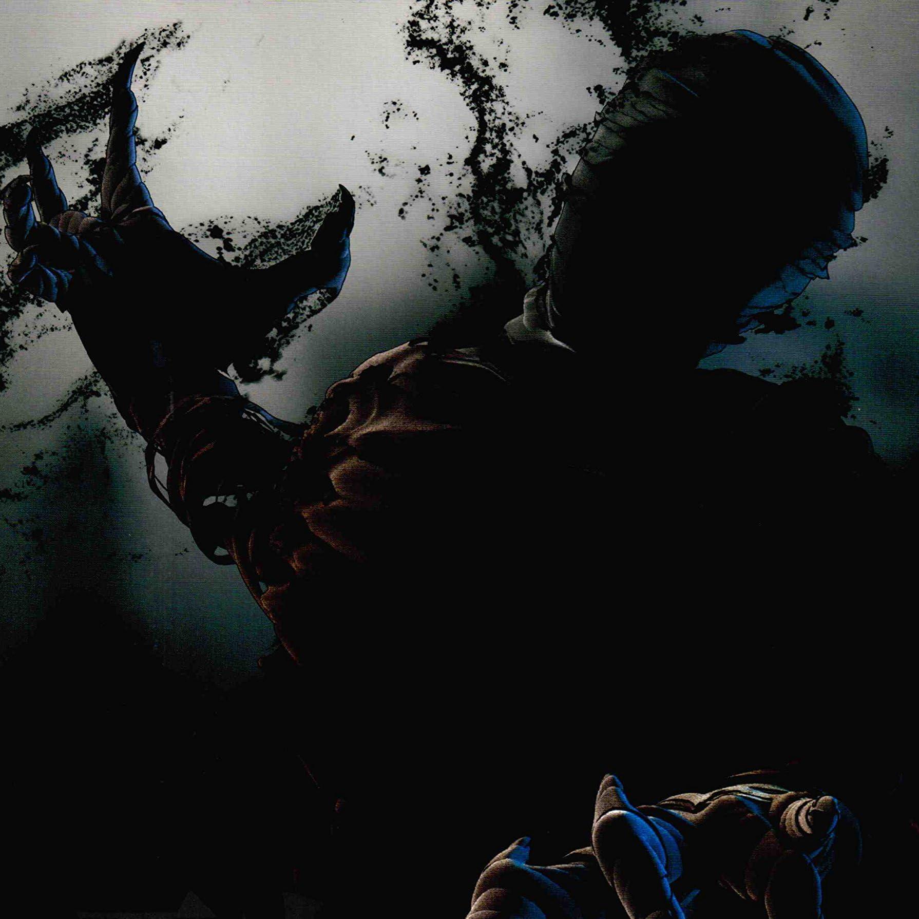 黒い幽霊の亜人の壁紙