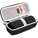 LTGEM Hard Carrying Case for JBL Flip 4 3 Portable Bluetooth Speaker, with Mesh Pocket Fits USB Cable and Accessories, for Tr