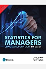 Statistics for Managers Using Microsoft Excel (8th Edition) Paperback