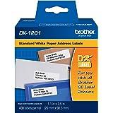 Brother Genuine DK1201 Die-Cut Standard Rolled Address Labels for QL Printers, (DK1201)