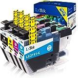 【LxTek】Brother用 ブラザー LC3111 インクカートリッジ 4色セット LC3111-4PK 『互換インク/2年保証/大容量/残量表示/個包装』