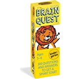 Brain Quest Kindergarten, revised 4th edition: 300 Questions and Answers to Get a Smart Start: 300 Questions and Answers to G