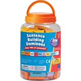 Learning Resources 2943 Educational Insights Sentence Building Dominoes,Multi