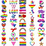 Pride Stickers Variety Pack ~ Over 160 Pride Stickers! ~ Gay Lesbian LGBT+ Rainbow Flag Sticker Pack for Water Bottle, Car, B