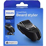 Philips SmartClick Beard Styling Accessory with 5 Length Settings, Comb & Precision Trimmer for Philips Men's Electric Shaver