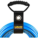 """LuBanSir 3 Pack Extension Cord Organizer, 22"""" Portable Hook and Loop Storage Straps with Grommet Fit Extension Cords, Cables,"""