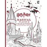 Harry Potter Magical Places and Characters Colouring Book