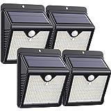【2020最新高輝度】センサーライト 150LED ソーラーライト 屋外照明 人感センサーライト 知能モード 太陽光発電…