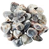 rockcloud 1 lb Natural Crystals Raw Rough Stones for Cabbing,Tumbling,Cutting,Lapidary,Polishing,Reiki Crytsal Healing,Stripe