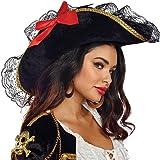 Dreamgirl(ドリームガール) Pirate Hat パイレーツハット 海賊帽子 O/Sサイズ 10799