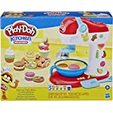 Play-Doh Kitchen Creations Spinning Treats Mixer Toy Kitchen Appliance for Children 3 Years and Up with 6 Non-Toxic Play-Doh