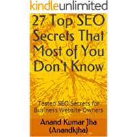 27 Top SEO Secrets That Most of You Don't Know : Tested SEO…