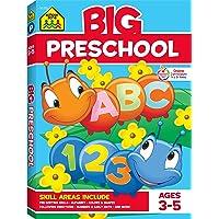 Big Preschool Workbook: Ages 3-5 (Big Workbook)