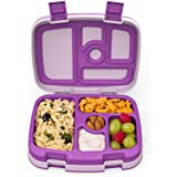 Bentgo Kids Childrens Lunch Box - Bento-Styled Lunch Solution Offers Durable, Leak-Proof, On-The-Go Meal and Snack Packing (P