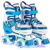 ローラースケート キッズ インラインスケート 子ども ローラーシューズ ジュニア ROLLER SKATE 女の子 初心…