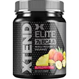 XTEND Elite BCAA Powder Citrus Passionfruit | Sugar Free Post Workout Muscle Recovery Drink with Amino Acids | 7g BCAAs for M