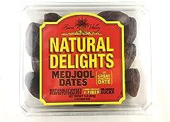 Bard Valley Natural Delights Medjool Dates, 454g