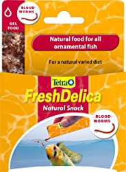 Tetra Freshdelica Bloodworms Dried Fish Food 48 g