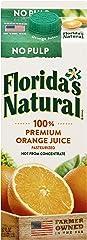 Florida's Natural NFC Premium Orange Juice (No Pulp), 1.5L - Chilled