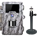 OUDMON Trail Game Camera 16MP 1080p 30fps FHD Waterproof IP67 Wildlife Scouting Hunting Cam with 940nm 48Pcs No Glow IR LEDs