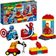 LEGO DUPLO Super Heroes Lab 10921 Marvel Avengers Superheroes Construction Toy and Educational Playset for Toddlers