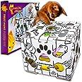 Cat Amazing Sliders -Interactive Treat Puzzle Cat Toy -Active Food Puzzle Feeder
