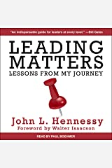 Leading Matters: Lessons from My Journey Audible版