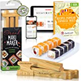 Sushi Making Kit by iSottcom - Sushi Kit for Chef and Beginners - Sushi Maker Your Best Professional Quick Sushi Making Set -