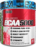 Evlution Nutrition BCAA5000 Powder 5 Grams Of BCAAs 30 Servings (Cherry Limeade)
